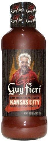 Guy Fieri BBQ Sauce, Kansas City, 19 Ounce (Pack of 6)
