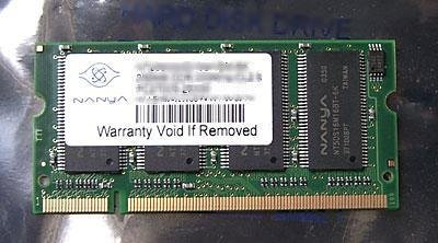 512MB PC2-3200 DDR II DDR2-400 SODIMM 200-pin Laptop / Notebook Memory