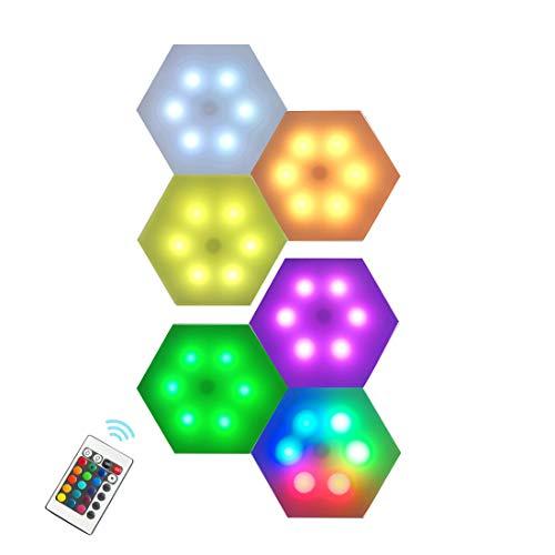 6 LED Waben