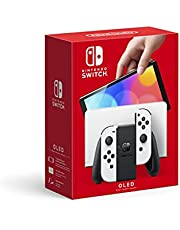 Nintendo Switch OLED with Joycon, color White