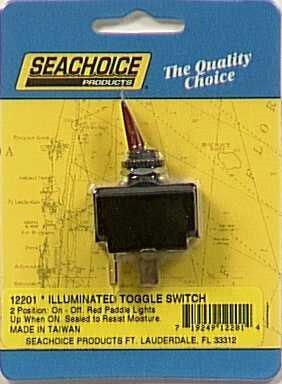Seachoice Seachoice 2-Position Illuminated Toggle Switch On/Off ()