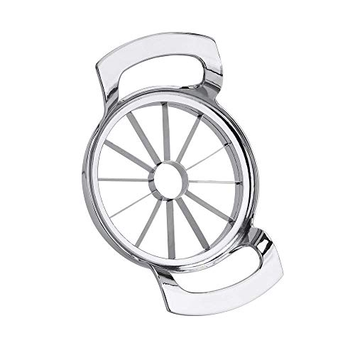 Corer Stainless Steel Blade - FEITA Stainless Steel Apple Slicer and Corer 12 Blades Food Grade 304 Extra Large Heavy Duty Apple Cutter Divider up to 4 Inch Apples