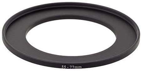 ProOptic Step-Up Adapter Ring 55mm Lens to 77mm Filter Size