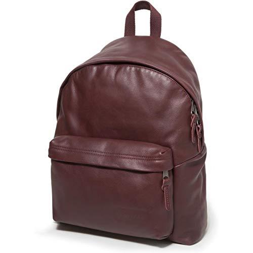 d42f606cf59 Eastpak Padded Pakr Backpack One Size Oxblood Leather: Amazon.co.uk:  Clothing