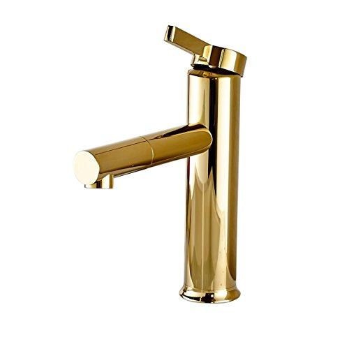 gold bathroom sink faucet - 8