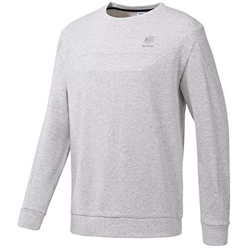 6bf5ca354ea83 Amazon.com: Reebok Men' Double Knit Crew Neck Shirt: Clothing