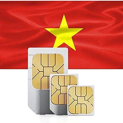 Amazon.com: Tarjeta SIM de datos prepagada para Vietnam 1GB ...