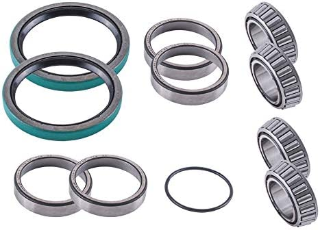 Polaris Scrambler 400 4x4 1995-1997 Rear Axle Wheel Carrier Bearings Seals