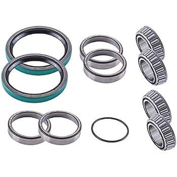 Amazon com: Front Wheel Bearings and Seals Kit Polaris