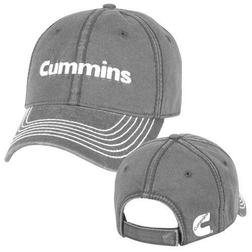 Amazon.com  Cummins Base Ball Cap hat Diesel Gear Dodge ram Logo  Embroidered Gray  Automotive e865ae08d88