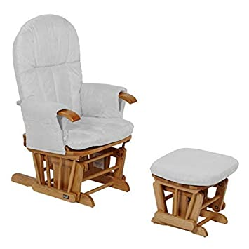 Tutti Bambini Deluxe Padded Smooth Glider Nursing Chair
