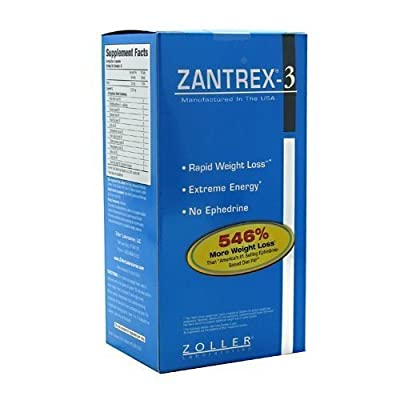 Basic Research Zantrex-3 84 capsules by Zantrex