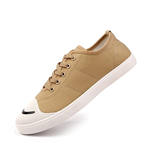 Breathable Exercise Casual Shoes Espadrilles HUAN Shoes Canvas Shoes Deck Outdoor Lace A Sneakers Mens up wABAnFqxY