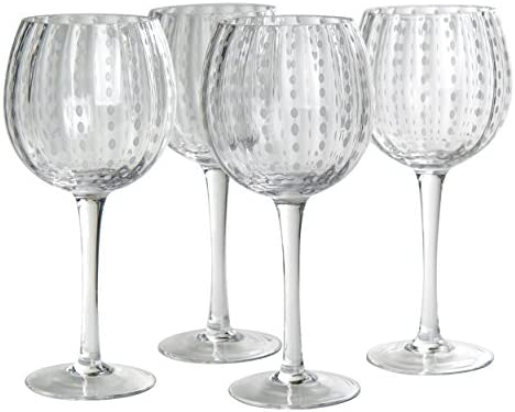 Set of 4 Glass Artland Cambria Goblet 18 oz