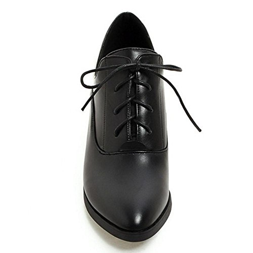 black Zapatos Mujer Zanpa 2 Para wSaxIPSqY