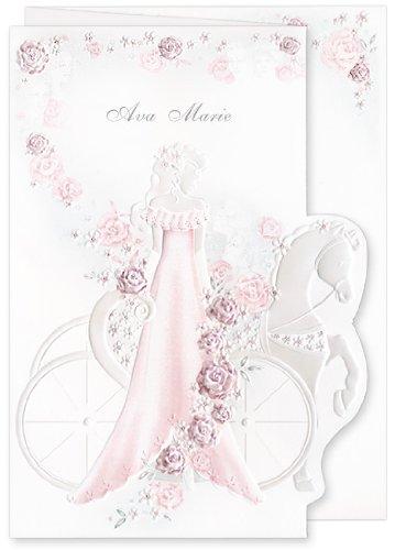 amazon com red bulk quinceanera invitations girl carriage