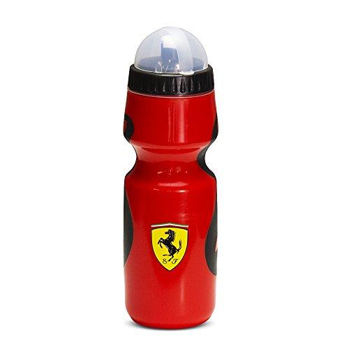 Ferrari Premium Squeeze Sports Water Bottle (Black and - Ferrari Red Black