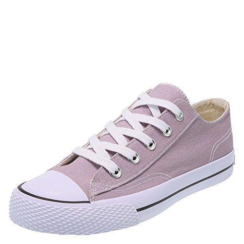24e7d5fedf4ab Airwalk Mauve Canvas Women's Legacee Sneaker 6 Regular from Airwalk