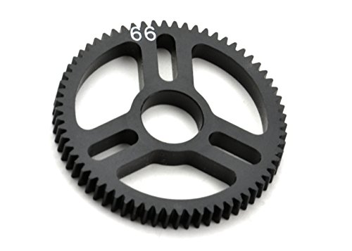 (Exotek RC 1543 Flite Spur Gear 48P 66T Machined Delrin for Exo Spur Gear Hubs)