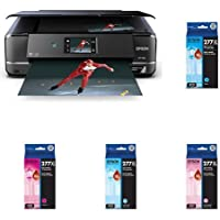 Epson Expression Photo XP-960 Wireless Color Photo Printer with Scanner and Copier with Cyan/Light Magenta/Light Cyan/Magenta/Black/Yellow High Capacity Cartridge Ink