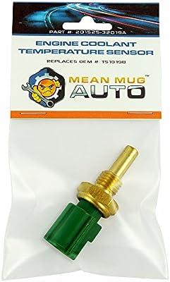 Mean Mug Auto 201525-32019A Engine Coolant Temperature Sensor - For: Toyota, Lexus & More - Replaces OEM #: TS10198 - 10161797 , B074DRNFXN , 285_B074DRNFXN , 427819 , Mean-Mug-Auto-201525-32019A-Engine-Coolant-Temperature-Sensor-For-Toyota-Lexus-More-Replaces-OEM-TS10198-285_B074DRNFXN , fado.vn , Mean Mug Auto 201525-32019A Engine Coolant Temperature Sensor - For: