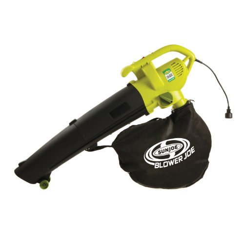 Sun Joe SBJ604E Blower Joe Electric Blower, Vacuum and Leaf