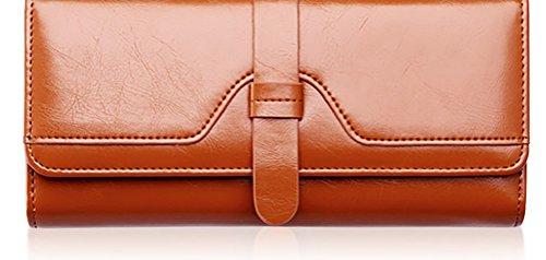 Pochette ChezAbbey pour Bag femme Café 1nwOg7P