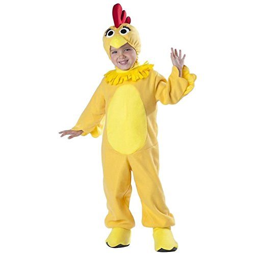 Tv Star Fancy Dress Costumes (InCharacter Costumes Baby's Sprout TV Star Chica Chickent Costume, Yellow, 3T)