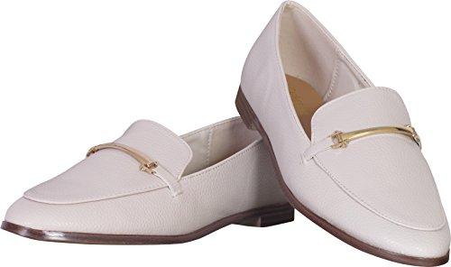 Catherine Malandrino Damen Slip-On Loafer Nicht-gerade weiss