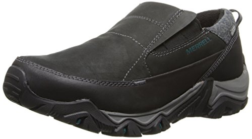 Merrell Women's Polarand Rove Peak Waterproof Shoe, Black, 9.5 M US by Merrell