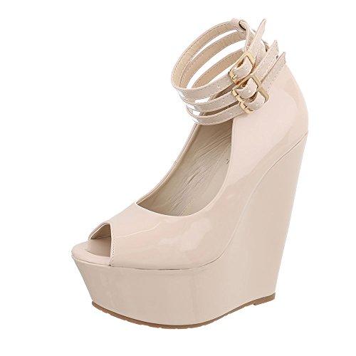 Women's shoes, sandal LT - 21 Beige Y7P