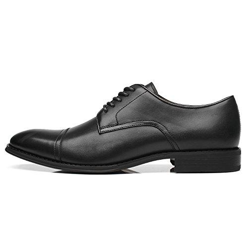 La Milano Men's Oxfords Classic Modern Round Captoe Shoes