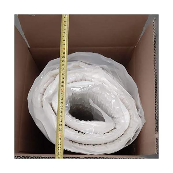 Materasso anatomico Eva H17cm, con accogliente memory Foam e poliuretano+2 cuscini in fior di memory, matrimoniale… 6 spesavip