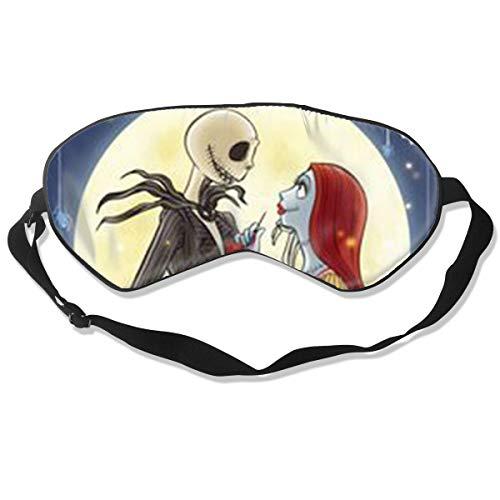 ZGQSBD Sleeping Mask- Silk Shading Eye Mask Fashion Tim Burton