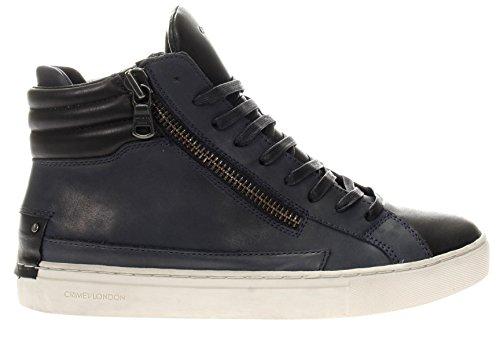 Crime London Uomo Sneaker 11332A17B 40 Sneaker in Pelle Blu