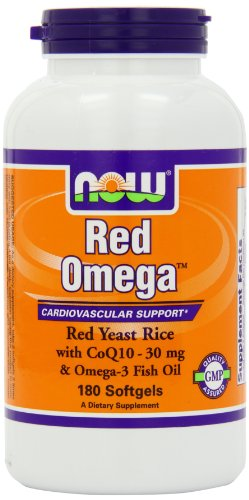 Now Foods Omega Red Soft-gels, 180-Count