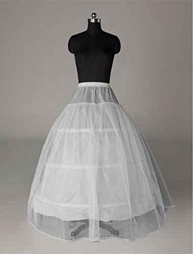FNKSCRAFT enagua de la boda accesorios de la boda Enaguas Falda paseo vestido de novia de 3 aros 1 capa de boda del baile de crinolina enagua de deslizamiento
