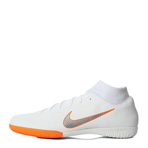 Académie Mercurial 6 Chrome Ic Nike 107 Blanc Chaussures O Hommes Blanc Superflyx Footbal blanc Totale URdqf