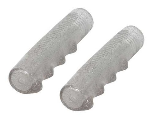 Lowrider Grips Sparkle/Clear. Bike Grips, Bicycle Grips, Grips, Beach Cruiser Grips, Mountain Bike Grips