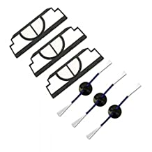 VCPS(TM) Accessories for irobot roomba 400 Vacuum Cleaner, kit includes 3 pack side brush and filter