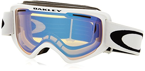 Oakley OO7066-22 O2 XM Eyewear, Matte White, High Intensity Yellow - Oakleys Yellow