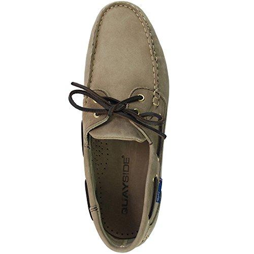 Quayside Clipper Chaussures de pont pour homme Sable