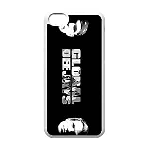 iPhone 5c Cell Phone Case Covers White Global Deejays J1724221