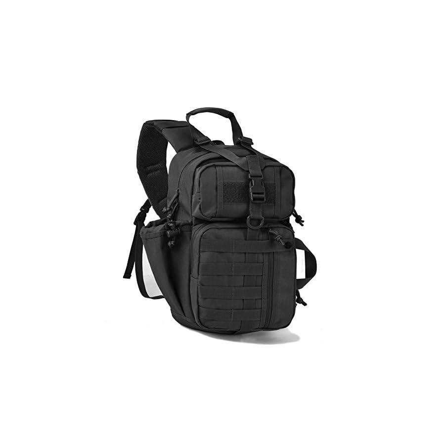 Tactical Sling Bag Pack Military Rover Shoulder Sling Backpack