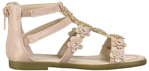 The Children's Place Girls' Sandal, Pink, Youth 5 by The Children's Place (Image #6)