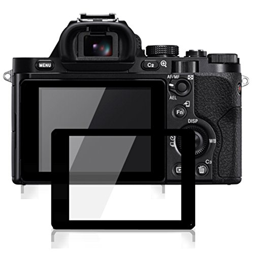 debous Screen Protector Compatible Sony A7 ILCE-7 Alpha 7 A7S A7R,Anti-Scratch Tempered Glass Hard Protective Shield (2pack) from debous-13
