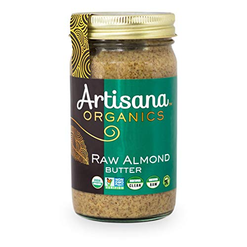 Artisana, Almond Butter Raw Organic, 14 Ounce