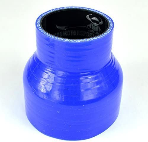 Demon MotorSport 63mm  51mm Straight Silicon Reducer 76mm Length Purple with Black Liner