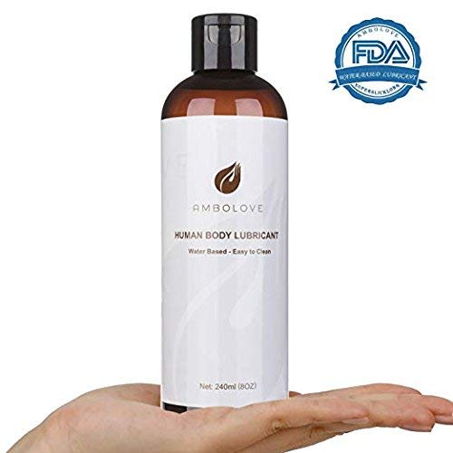 Personal Lubricants, AMBOLOVE Water Based Lube for Sex Intimate Lubricant, Sexual Lubricants for Couples,Men or Women (8oz)  Price: $10.09