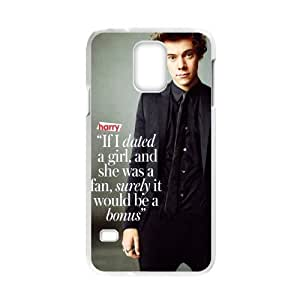 Music Star Band Series One Direction 1D Harry Style Personalized Cool Case For Samsung Galaxy S5 - Custom Personalized Hard Plastic Phone Case Shell Back Cover Protective Case
